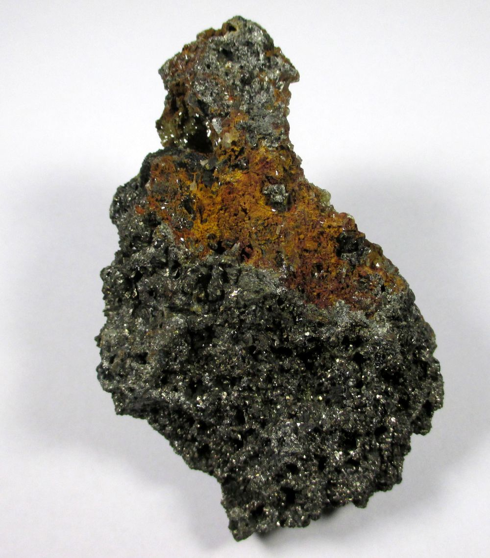 Mimetite On Arsenopyrite