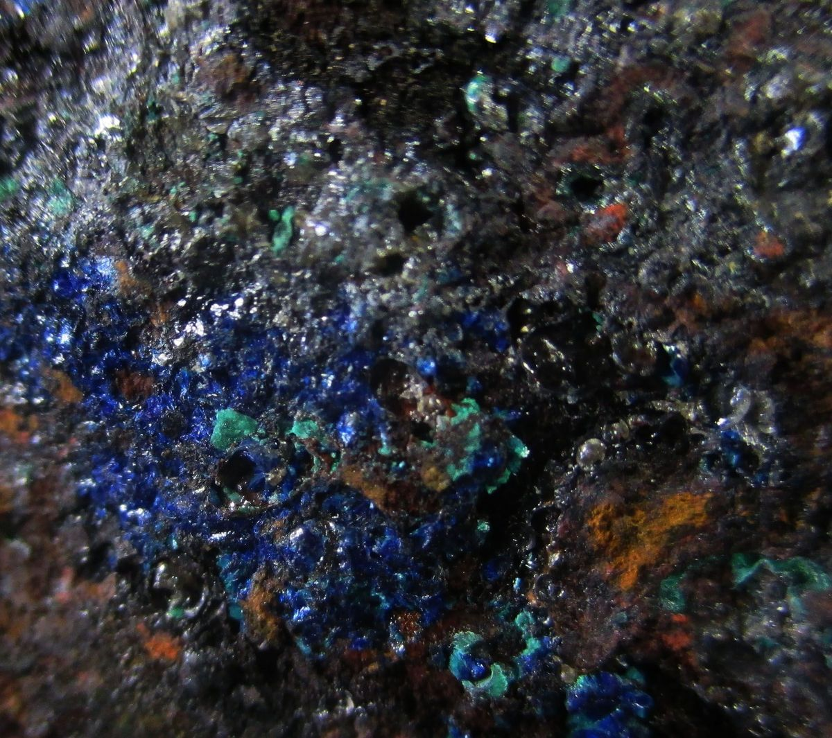 Calomel Native Mercury Azurite & Malachite