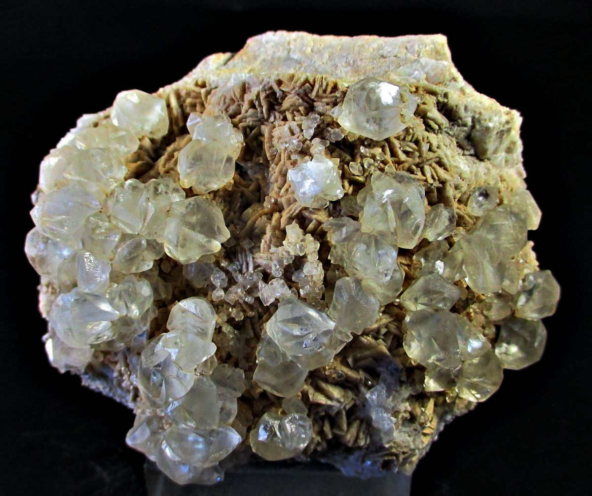 Calcite On Dolomite