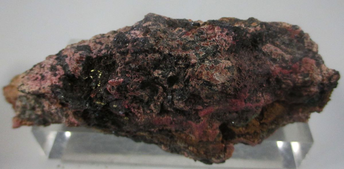 Native Gold & Erythrite