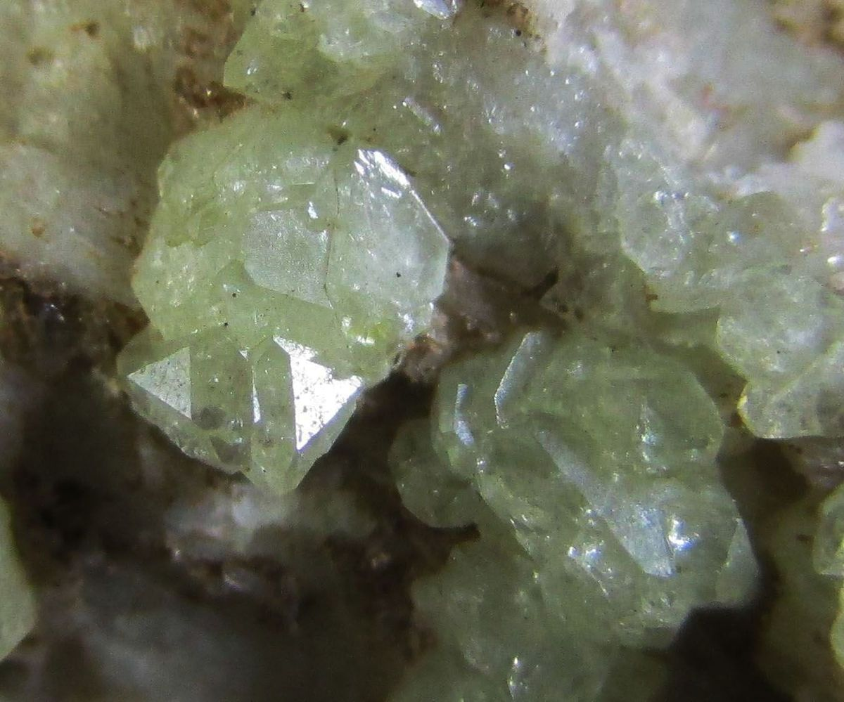 Brazilianite On Microcline