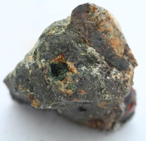 Chalcosiderite With Bermanite