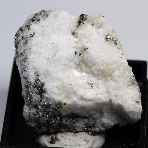 Lengenbachite On Pyrite