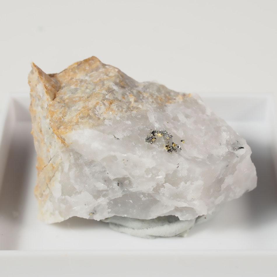 Tetradymite & Native Gold