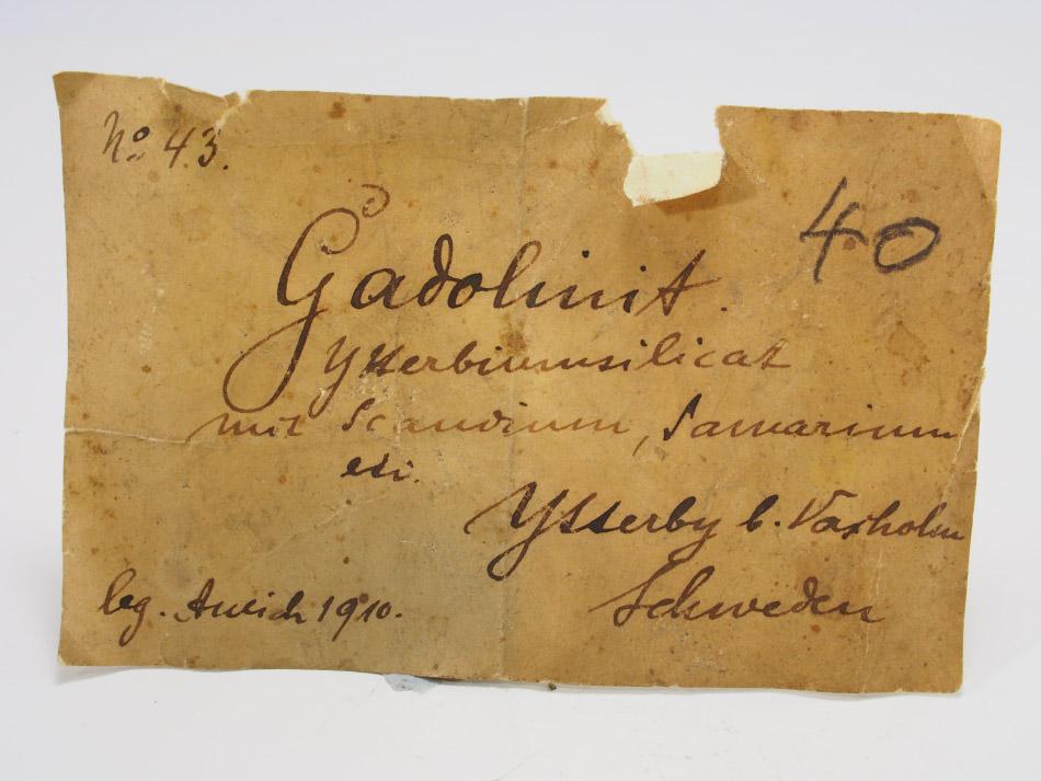 Gadolinite-(Y)