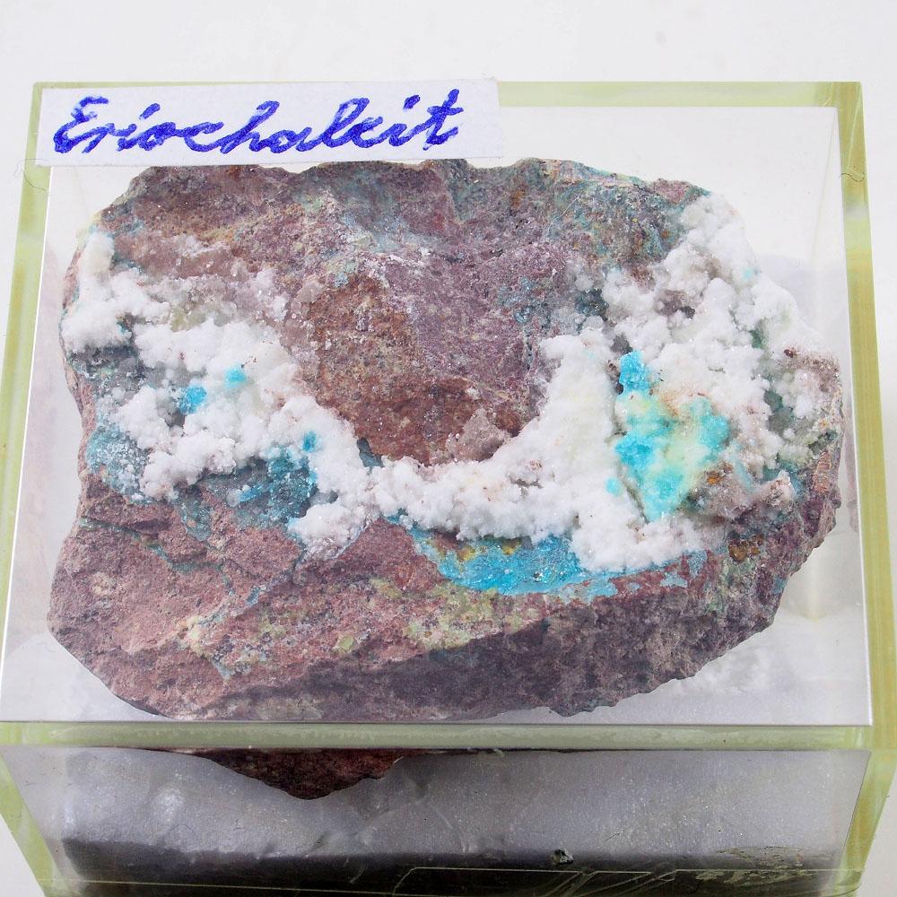 Eriochalcite & Vendidaite