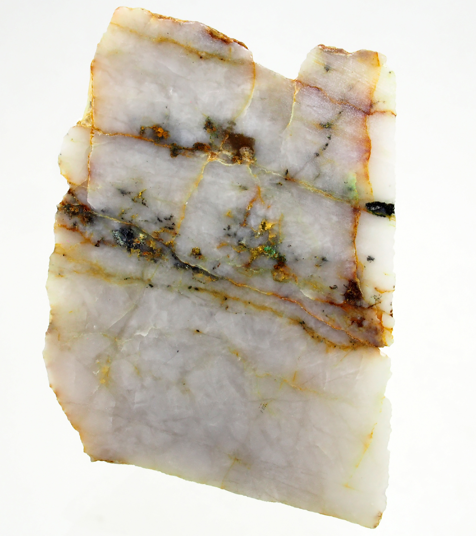 Native Gold & Bournonite