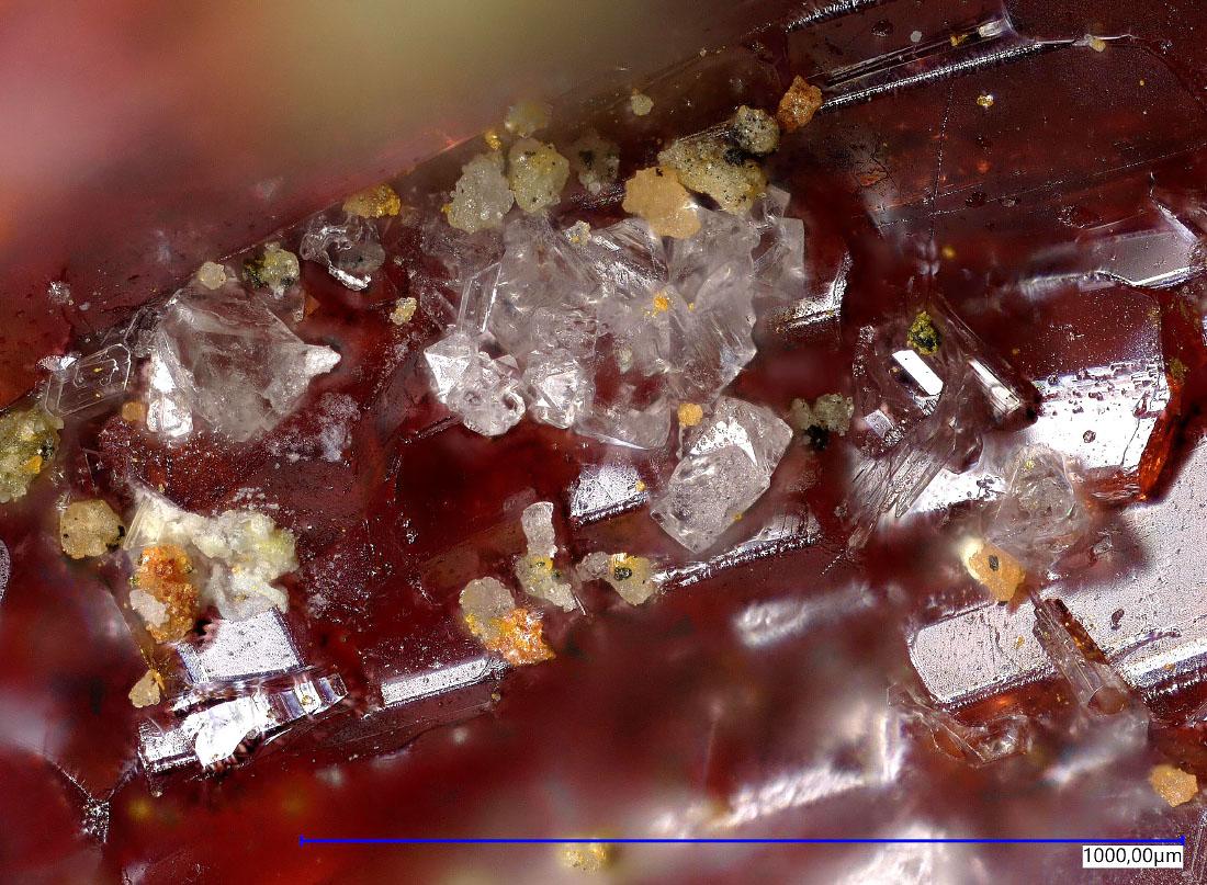 Thalliumpharmacosiderite & Lanmuchangite