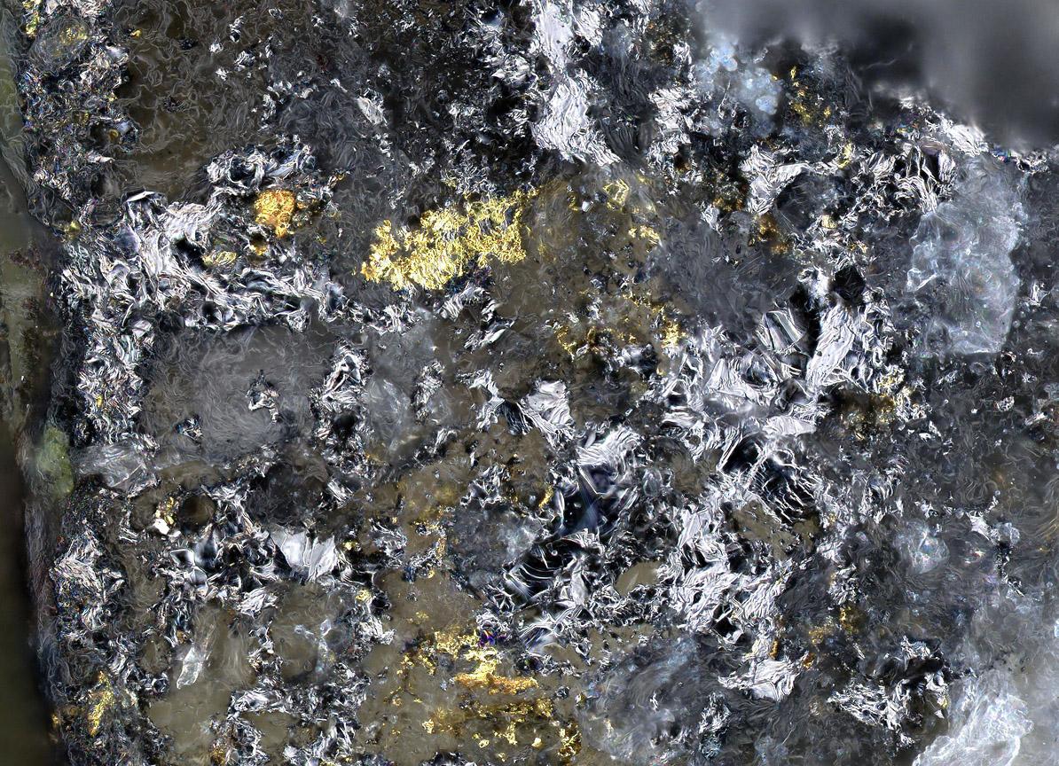 Goldfieldite & Native Gold