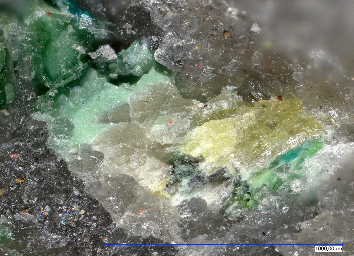 Zincospiroffite Quetzalcoatlite & Dagenaisite