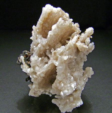 Anglesite On Cerussite With Galena