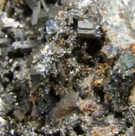 Arsenopyrite On Chalcopyrite