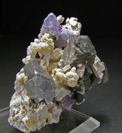 Arsenopyrite With Fluorite & Muscovite