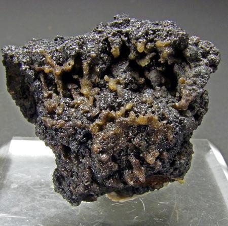 Chlorargyrite On Coronadite