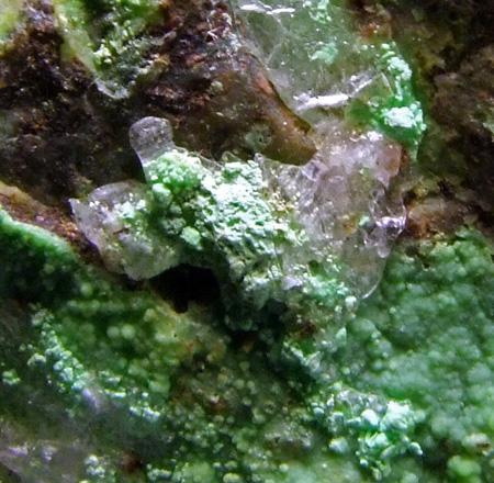 Gaspéite & Gypsum