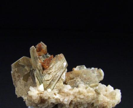 Muscovite On Albite