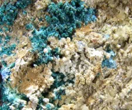 Native Copper Connellite & Paratacamite