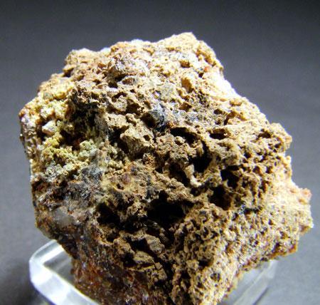 Native Sulphur On Bindheimite