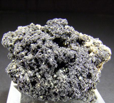 Native Sulphur On Galena