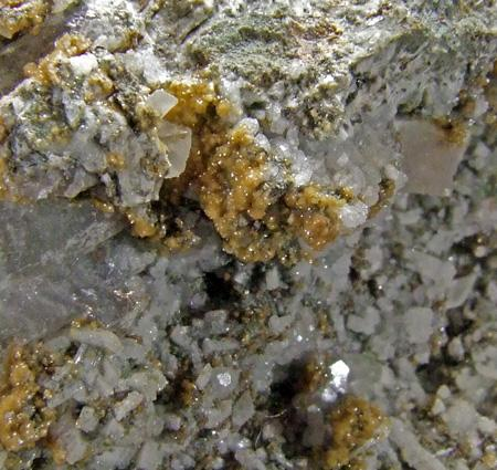 Plagioclase Calcite & Siderite