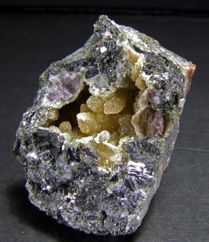 Quartz Over Sphalerite & Galena