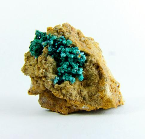 Schulenbergite & Brochantite On Native Copper