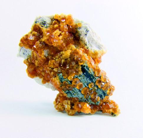 Spessartine On Biotite & Orthoclase