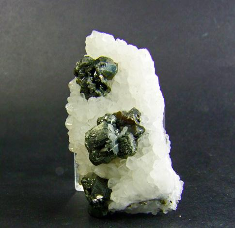 Tennantite & Sphalerite On Quartz