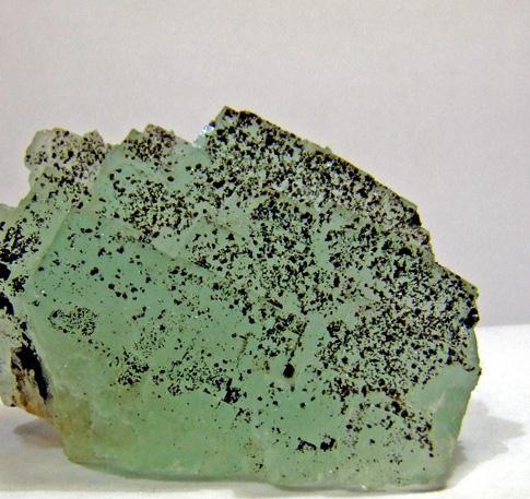 Pyrite On Fluorite