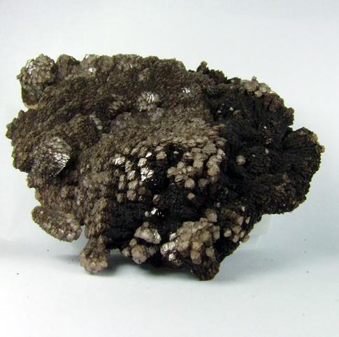 Sturtite On Manganoan Calcite