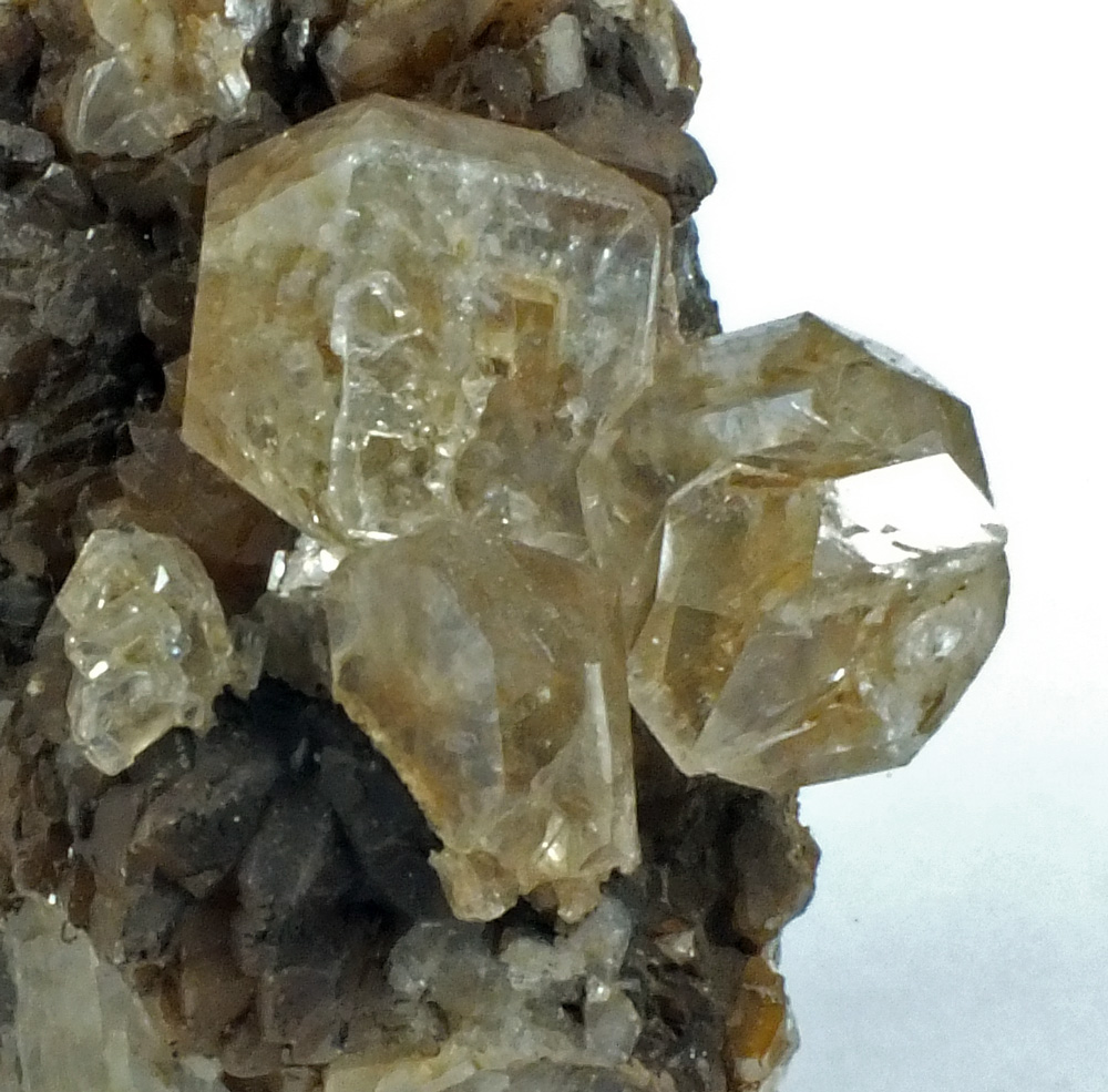 Fluorapophyllite On Calcite
