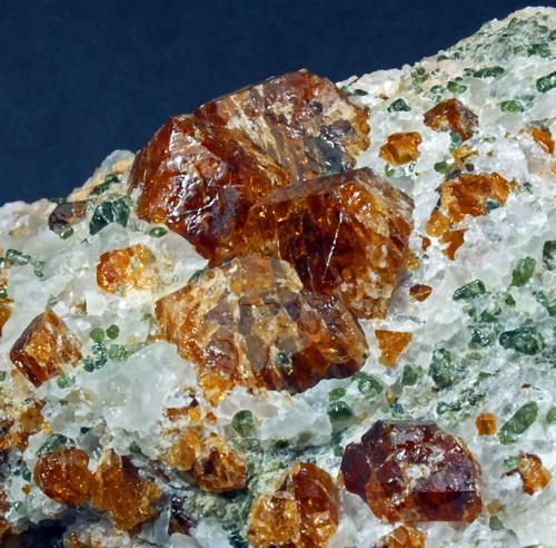 Hessonite & Diopside