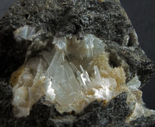 Natrolite & Calcite