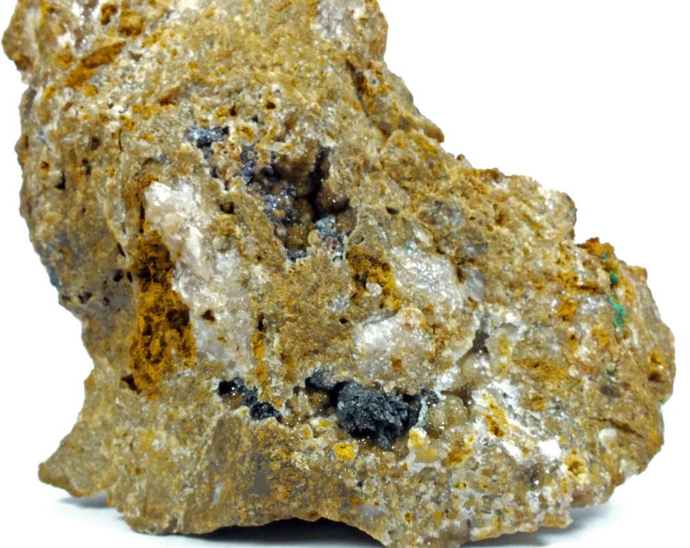 Native Copper Cuprite On Quartz