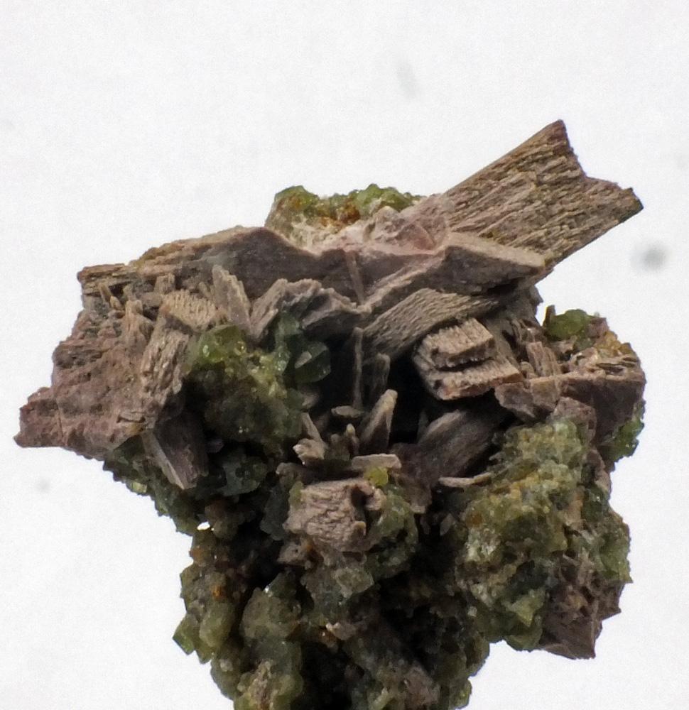 Orthoclase & Johannsenite