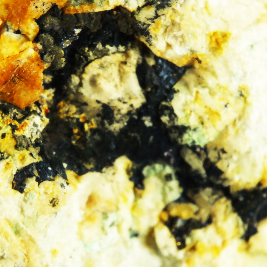 Bornite Chalcopyrite & Pyrite