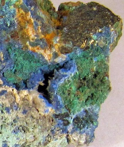 Linarite & Caledonite
