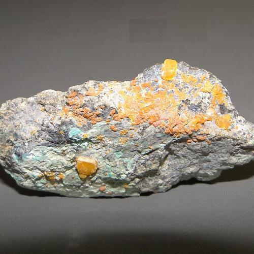 Wulfenite & Chromian Mimetite