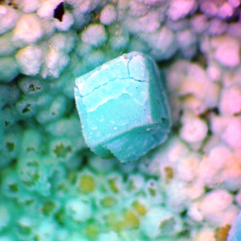 Rosasite Psm Calcite