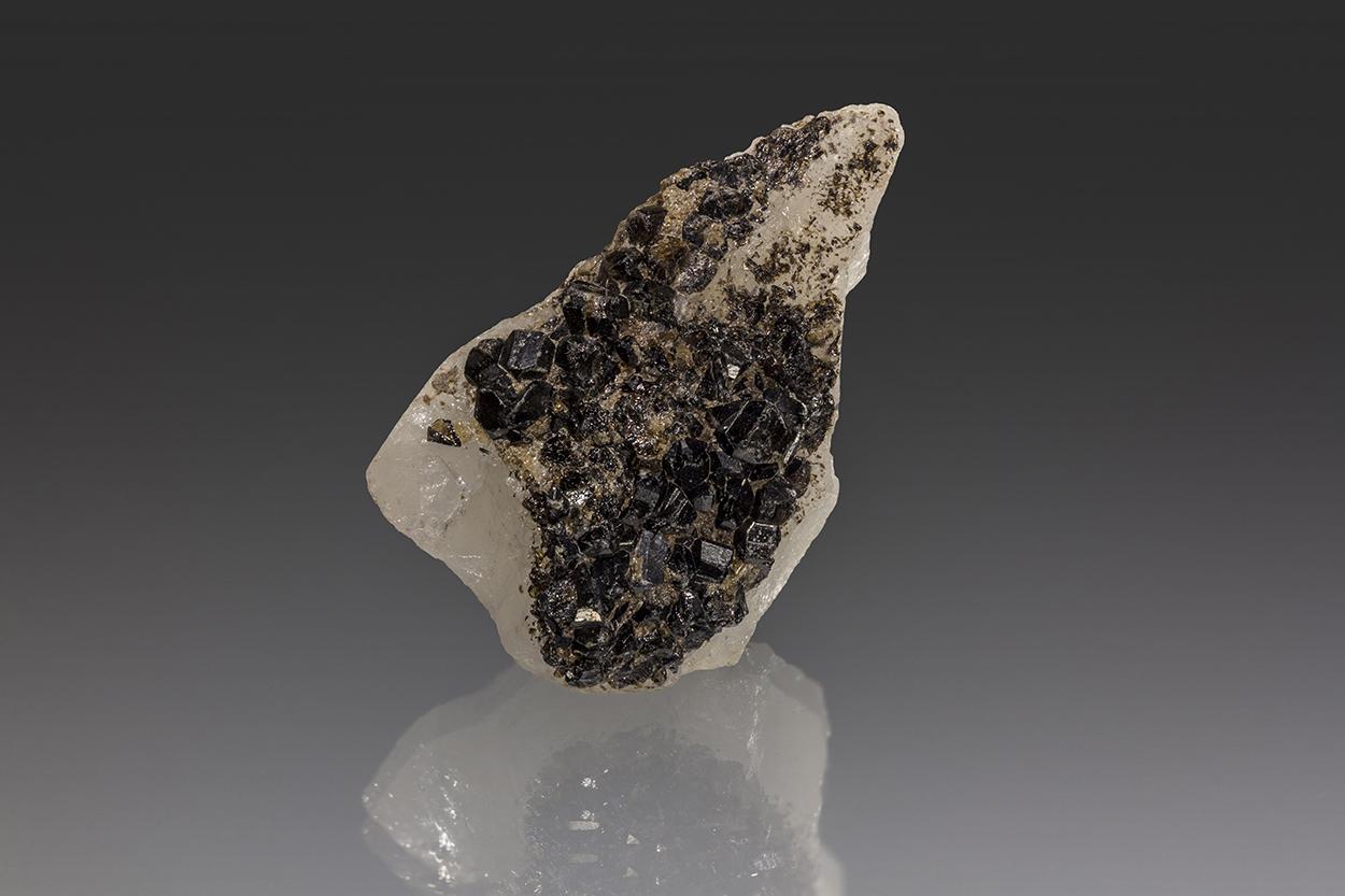 Cassiterite & Sericite On Quartz