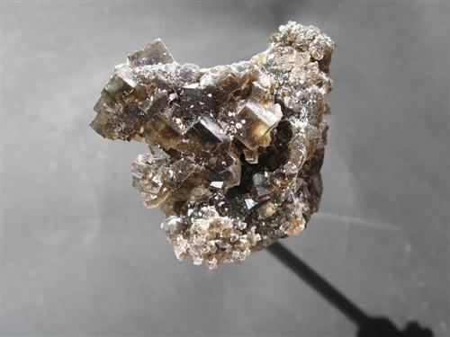 Fluorite Hydroxylherderite & Topaz