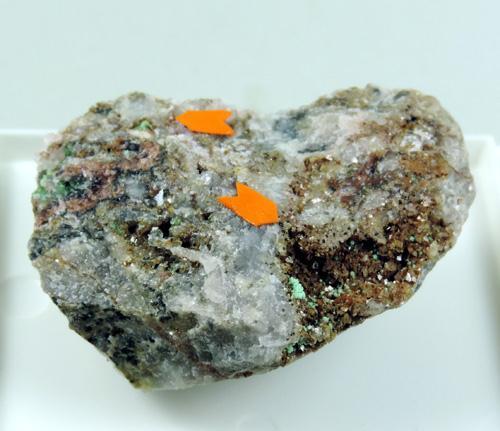 Annabergite Cobaltlotharmeyerite & Talmessite