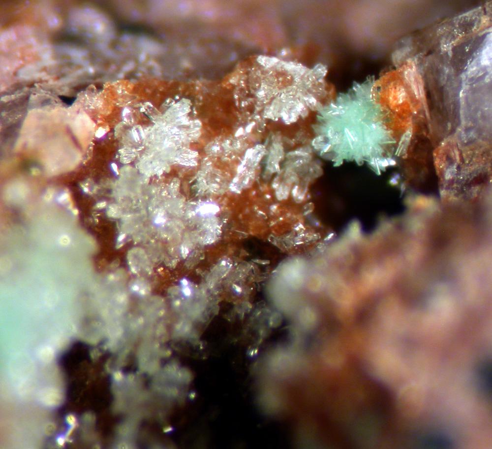 Annabergite & Talmessite