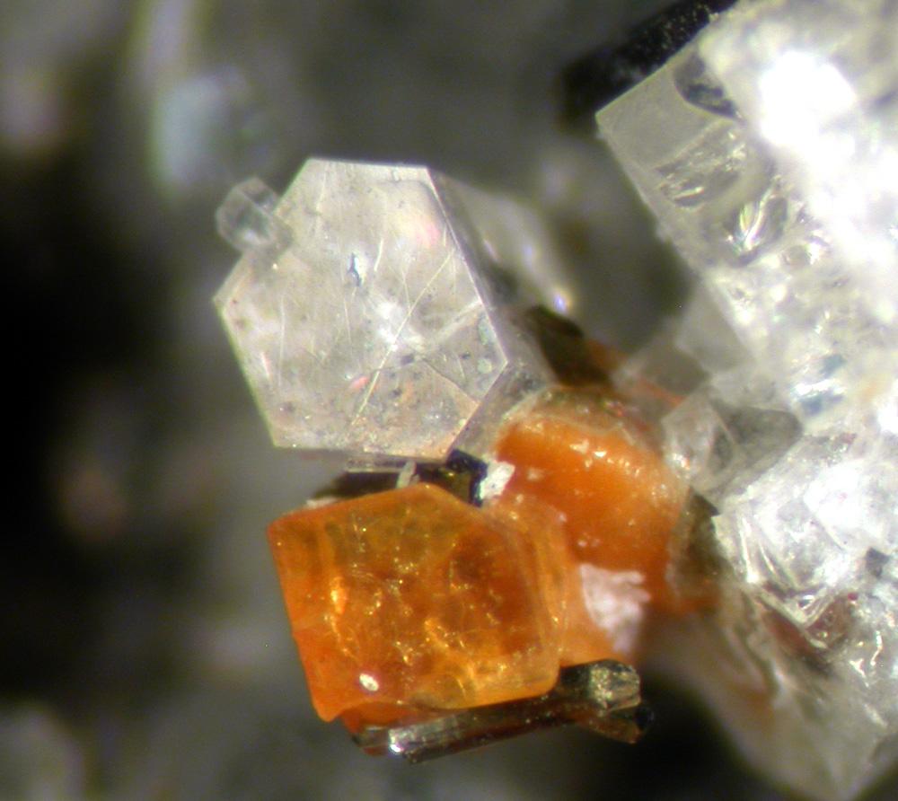 Nepheline Melilite & Pyroxene Group