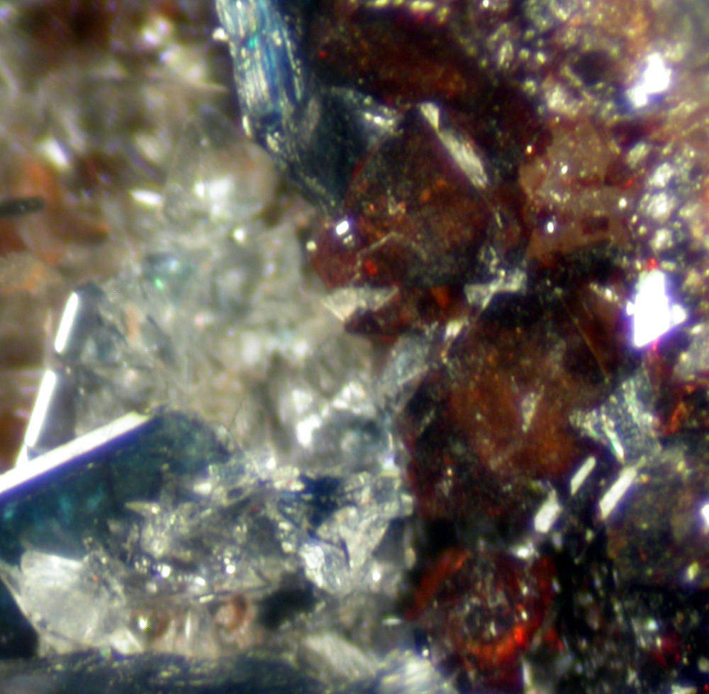 Vivianite Reddingite & Fairfieldite