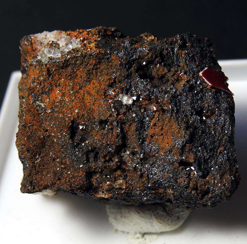 Pharmacosiderite Scorodite & Magnetite