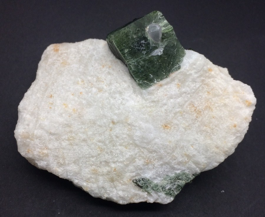 Diopside With Calcite