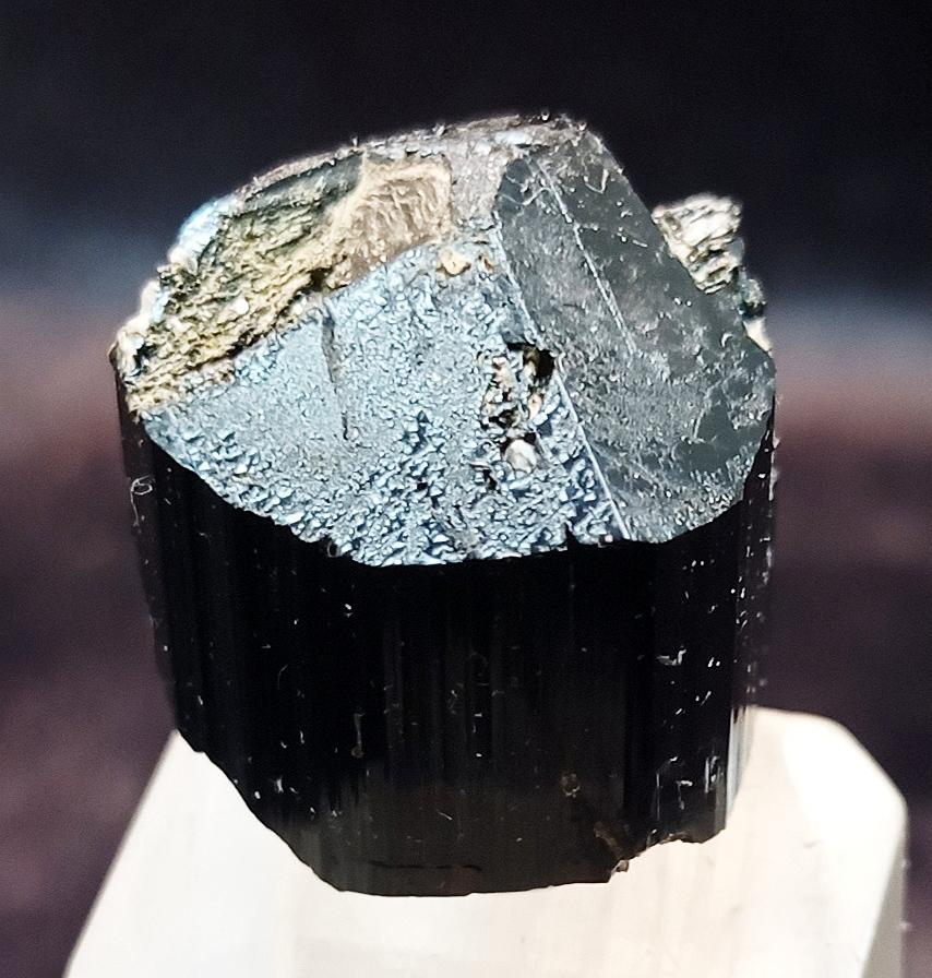 Aquamarine With Schorl & Muscovite