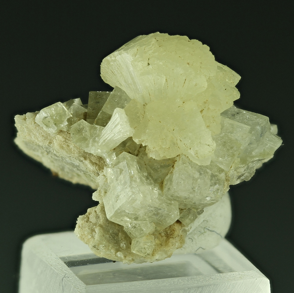 Stilbite With Chabazite