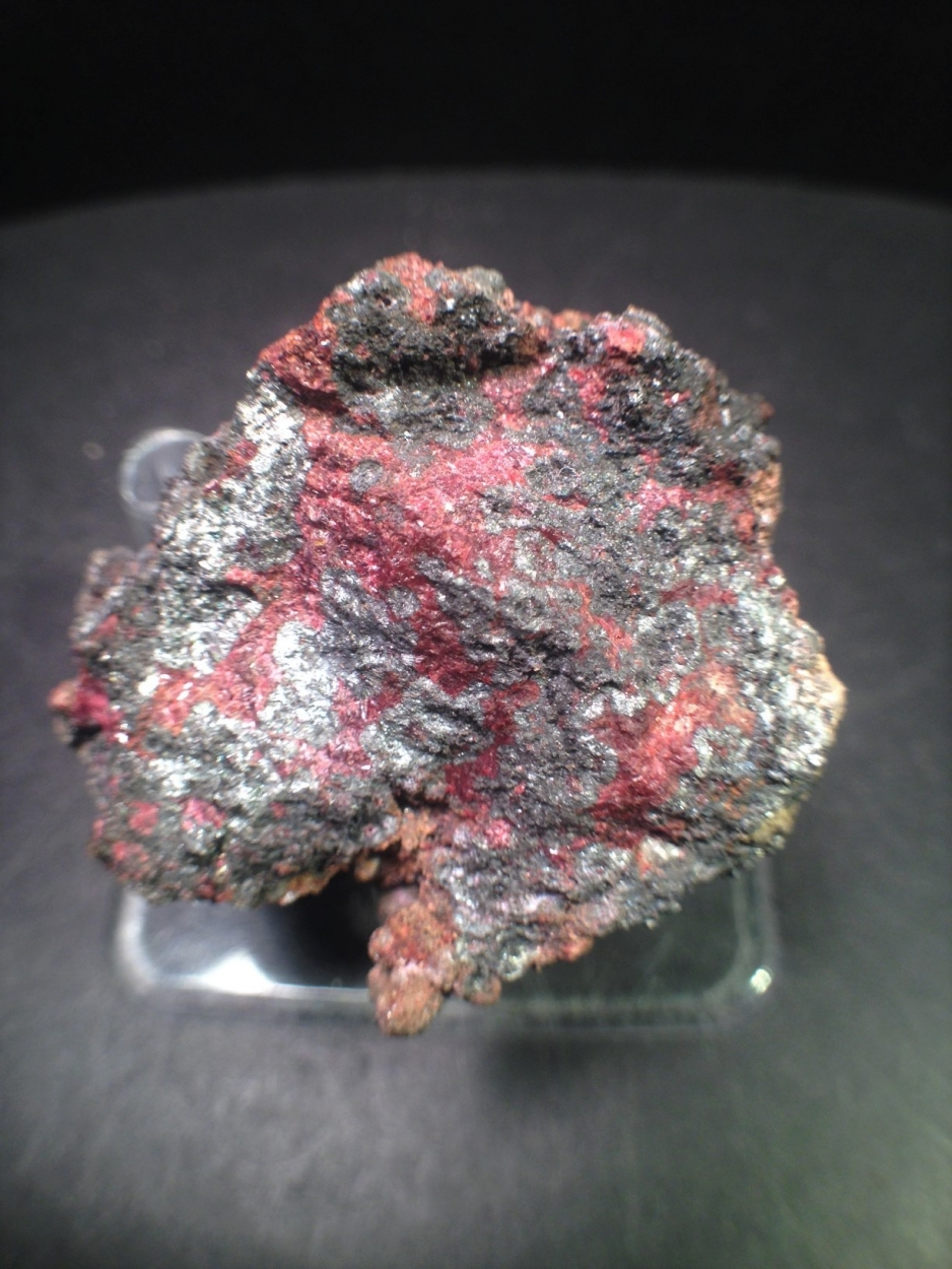 Safflorite With Silver & Erythrite